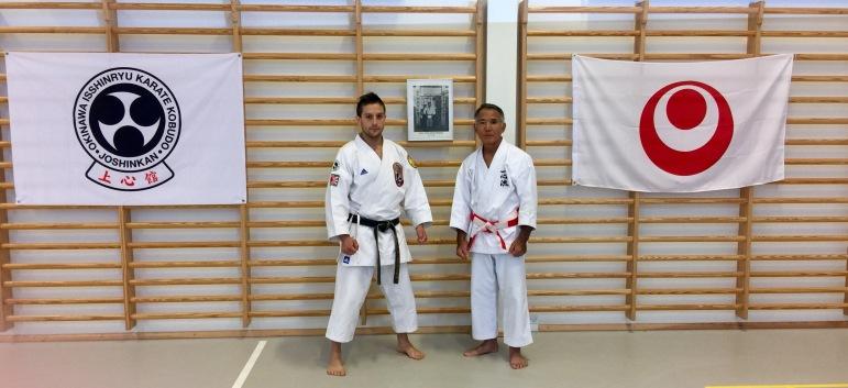 Uechi Tsuyoshi Sensei & Diego Rodriguez Sensei