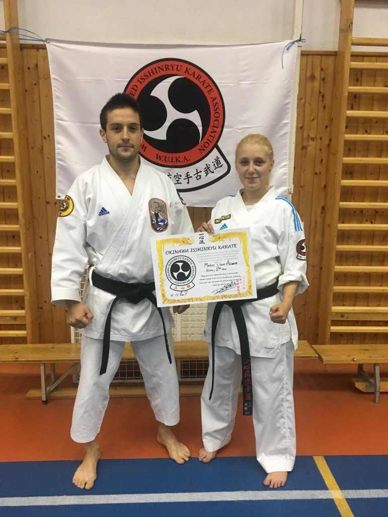 ANDREEA DIANA - NIDAN, 2nd Dan WUIKA