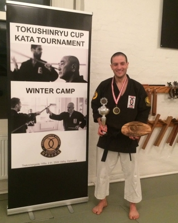 TOKUSHINRYU CUP 2018 1st PLACE