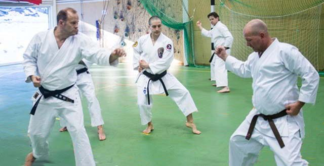 ISSHINRYU SEISAN KATA TRAINING