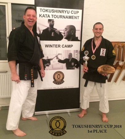 MARTIN FREDERIKSEN SENSEI & DIEGO RODRIGUEZ SENSEI TOKUSHINRYU CUP 2018 1st PLACE