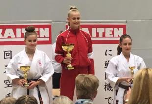 KATA FEMALE DIVISION PODIUM