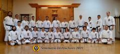 INSTRUCTORS GASSHUKU & BLACK BELT RANK TEST - CHILE 2018