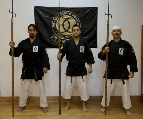 IVAN PARRA SENSEI (Seishinkan Takeshi Budo) - DIEGO RODRIGUEZ SENSEI (Seishinkan Europa) - MAURICIO LOPEZ SENSEI (Seishinkan Honbu Dojo)