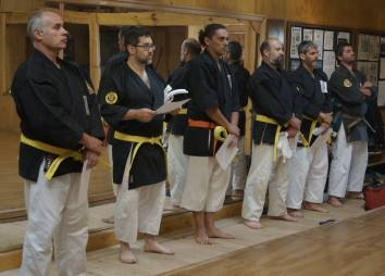 TOKUSHINRYU KOBUDO RANK PROMOTION