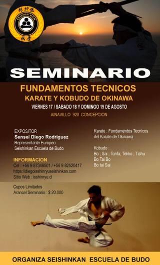 CHILE SEMINAR AUGUST 2018
