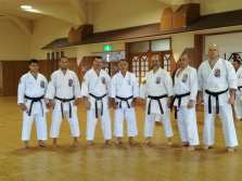 Tsuyoshi Uechi sensei & Seishinkan representatives