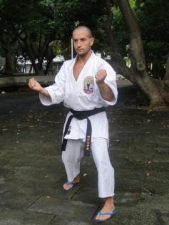 MATSUYAMA KOEN - Diego Rodriguez Sensei, Okinawa August 2018