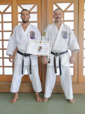 Renshi Go - Rank Promotion, Okinawa 2018