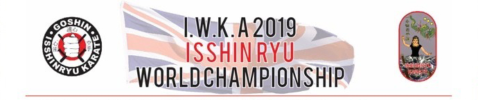IWKA ISSHINRYU WORLD CHAMPIONSHIP LONDON UK 2019 OFFICIAL