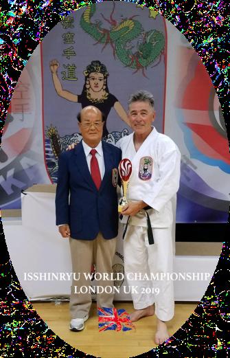 DONALD WASHABAUGH - Isshinryu World Karate Association