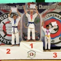 Karate Kata podium - Haslev Karate Skole Denmark students