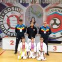 GEORGE CRACIUNESCU student's podium - WUIKA Romania & Diego Rodriguez sensei from Chile.