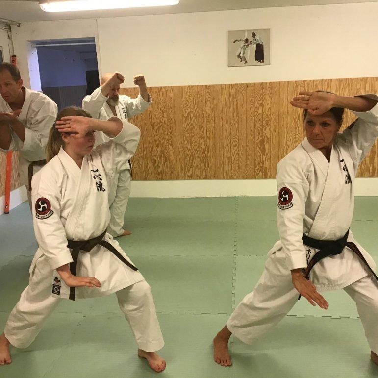 WUIKA EUROPE - Kusanku Kata practice