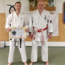 ANDREAS MISCHKEWITZ Joshinkan Germany Go Dan Rank Promotion