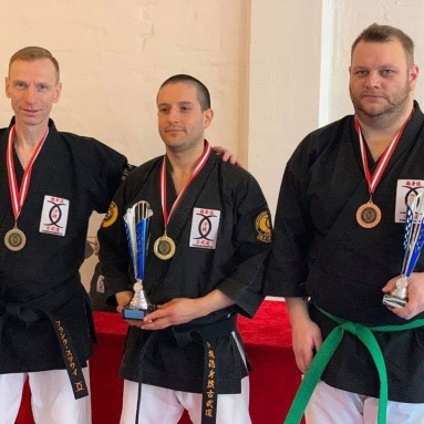 TOKUSHINRYU CUP -2020 Podium